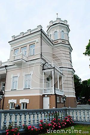 Free Beatiful Bright House In Druskinikai City Centre Stock Image - 46710221