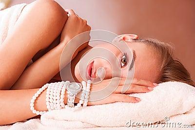 Beatiful women relax