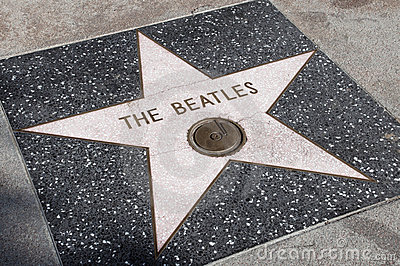The Beatles s star Editorial Stock Image
