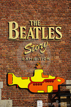 The Beatles Story Exhibition Editorial Stock Photo