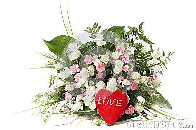 Beau bouquet de fleurs fra ches images stock image 28680024 for Beau bouquet de fleurs