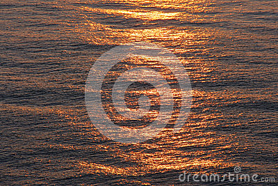Lever de soleil de mer