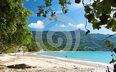 Beau Vallon beach 2