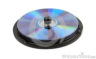 Beaucoup de CD d isolement