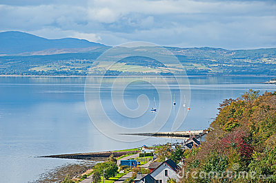 Beauly Firth from Kessock Bridge