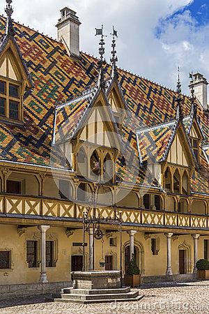 Beaune - Burgundy - France Editorial Photography