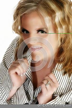 Beautiful 40 Year Old Woman Royalty Free Stock Photos