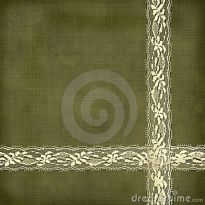 Beautiful abstract background with gold lace