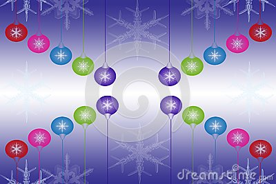 Beautiful abstract christmas light background