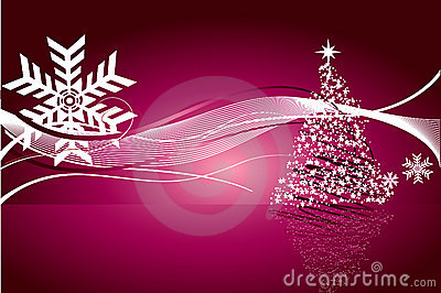 Beautiful abstract Christmas vector background
