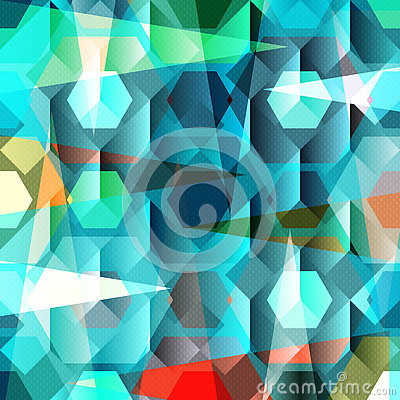 Free Beautiful Abstract Geometric Colorful Background Vector Illustration Royalty Free Stock Photo - 74630625