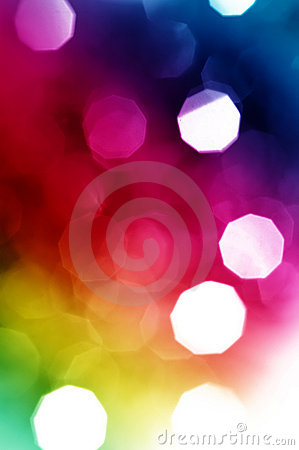 Beautiful abstract holiday lights