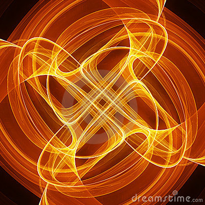 Beautiful Abstract Image of Energy Flow