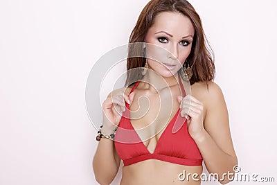 Beautiful adult sensuality woman