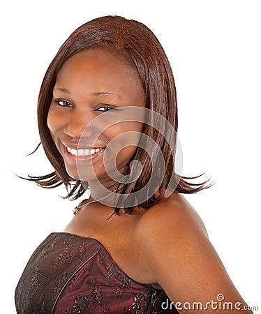 Beautiful African American Lady