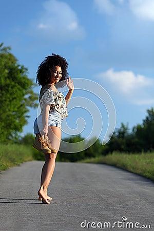 average looking women walking