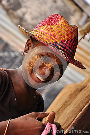 Beautiful african women from madagascar Editorial Photo
