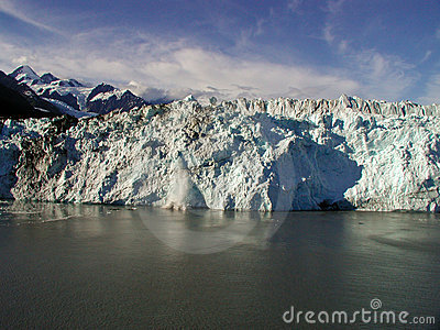 Beautiful Alaskan glacier