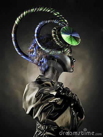 Free Beautiful Alien Lady Stock Photos - 17836303