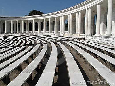 Beautiful Amphitheatre Stock Photo - Image: 14641580