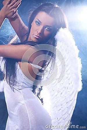 Free Beautiful Angel Royalty Free Stock Photos - 19858908