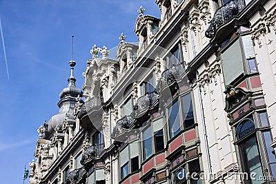 Beautiful architecture in Zurich