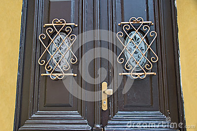 Beautiful artiststic architecture details Stock Photo