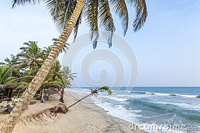 Beautiful as paradise beach