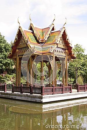 Beautiful asia temple
