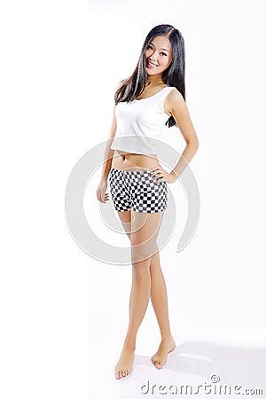 Free Beautiful Asian Girl Stock Image - 101557711