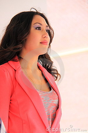 Free Beautiful Asian Girl Royalty Free Stock Photography - 24238477
