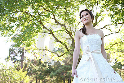 Beautiful Asian Wedding Bride