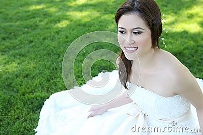 Beautiful Asian Wedding Bride