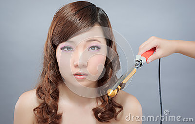 Curling Iron Asian Hair 35