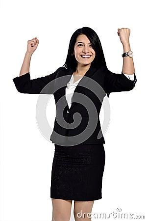 Beautiful attractive business women
