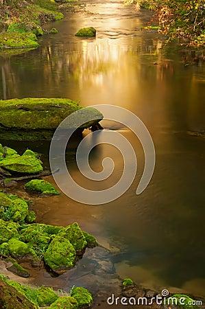 Free Beautiful Autumn Creek Stock Image - 22514341