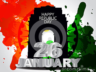 Beautiful background for indian republic day.