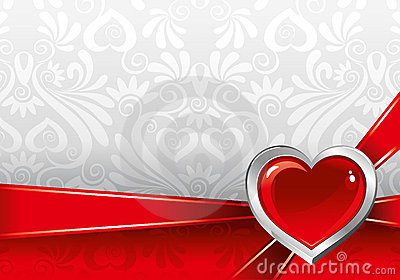 Beautiful background on Valentine s Day
