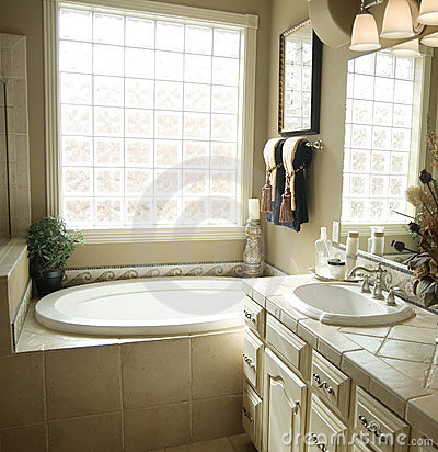 Beautiful bathroom interior design