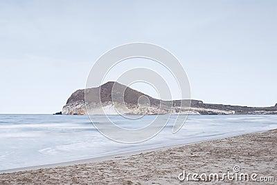 Beautiful beach in Andalusia, Spain