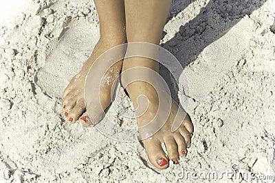Beautiful Beach Feet