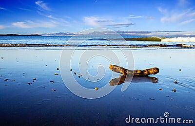 Beautiful Beach Scene, Taipa, New Zealand