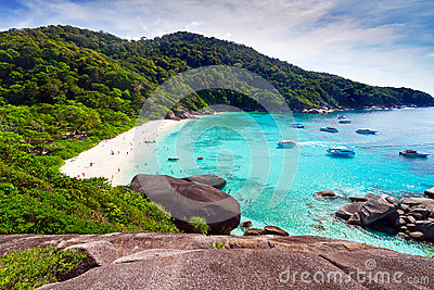 Beautiful beach of Similan Islands