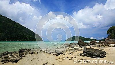 Beautiful beach at Surin islands national park