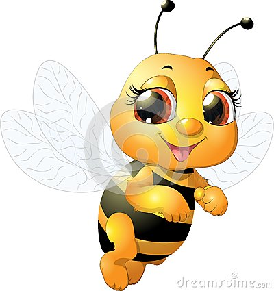 Free Beautiful Bee Royalty Free Stock Photos - 48070278