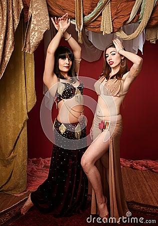 Beautiful Belly Dancers