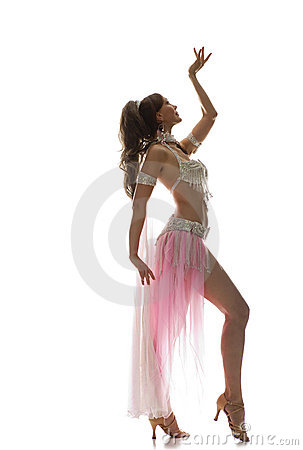 Free Beautiful Bellydancer Royalty Free Stock Image - 11737496