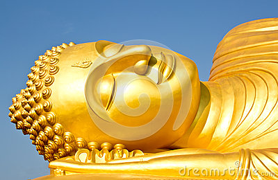 Beautiful big Buddha statue