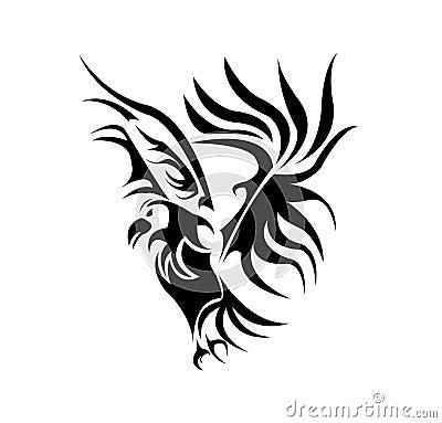 black bird tattoo. A BEAUTIFUL BIRD TATTOO DESIGN
