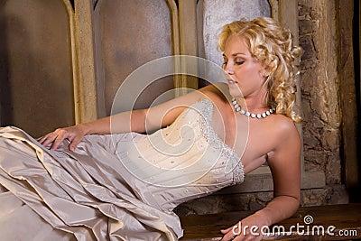 Beautiful blond